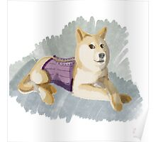 Doge in a Corset Poster