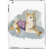 Doge in a Corset iPad Case/Skin
