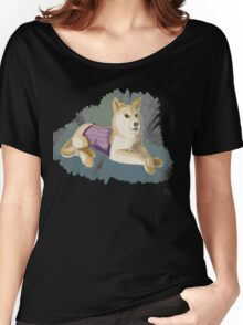 Doge in a Corset Women's Relaxed Fit T-Shirt