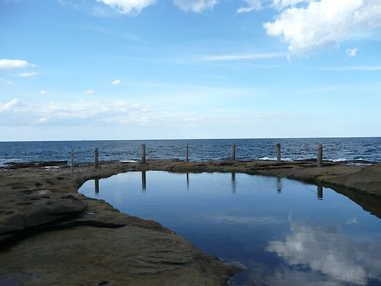Rock Pool by Taniah