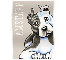 Amstaff Lean on Me {Type} Poster