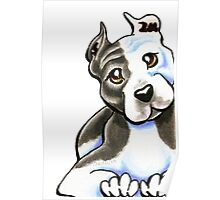 Amstaff Lean on Me Poster