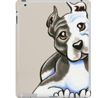Amstaff Lean on Me iPad Case/Skin