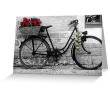 French Wheels And Onions! Greeting Card