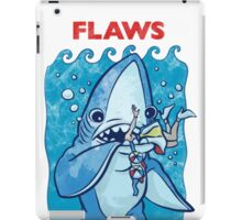 Flaws Team Left Shark Parody iPad Case/Skin