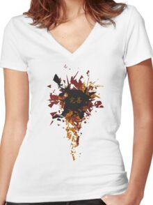 Vector Women's Fitted V-Neck T-Shirt