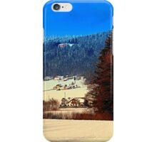 Bohemian forest winter scenery | landscape photography iPhone Case/Skin