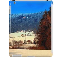 Bohemian forest winter scenery | landscape photography iPad Case/Skin
