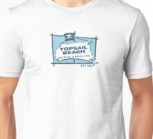 Topsail Beach - North Carolina. Unisex T-Shirt