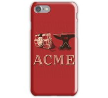 Classic ACME logo iPhone Case/Skin