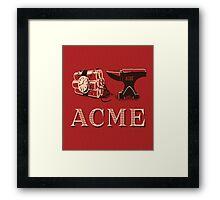 Classic ACME logo Framed Print