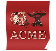 Classic ACME logo Poster