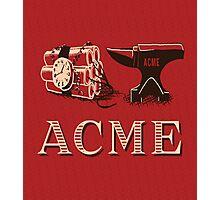 Classic ACME logo Photographic Print