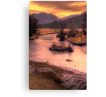 A New Years Sunrise Canvas Print