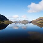 Iceland - Alftavatn lake reflection by thonycity