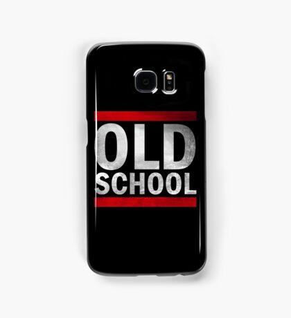 OLD SCHOOL White Samsung Galaxy Case/Skin