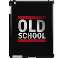 OLD SCHOOL White iPad Case/Skin
