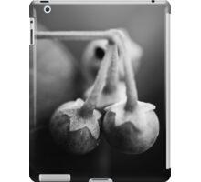 break your fall iPad Case/Skin