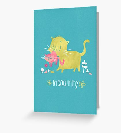 Meommy Greeting Card