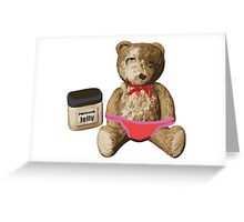 Mr. Raspberry jam Greeting Card