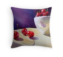 Life Is Just a Bowl of Cherries! Throw Pillow
