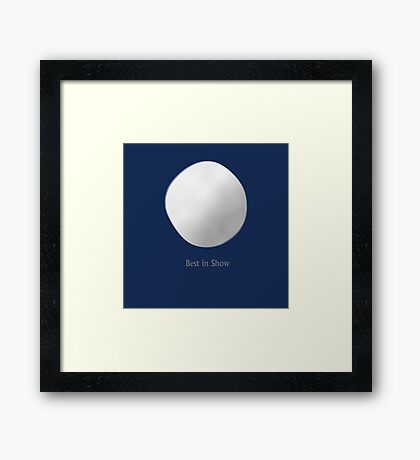 Rover - Best In Show Framed Print