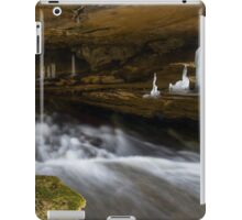 Ice Formations in Cavern iPad Case/Skin