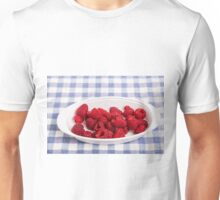 Red Raspberries in Bowl Unisex T-Shirt