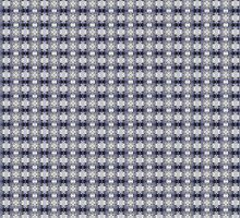 Punky Purple and Gray Pattern by Shelley Neff