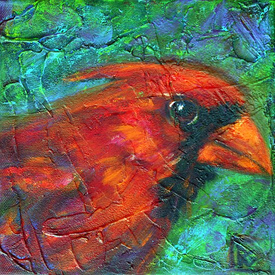 Reasons to Be Cheerful: Cardinals by Rosemary Conroy