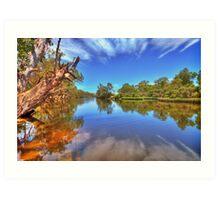 Swan River reflections Art Print