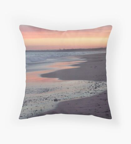 Sunset Old Bar 2 Throw Pillow