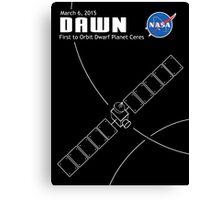 Dawn Spacecraft Canvas Print