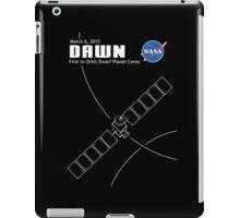 Dawn Spacecraft iPad Case/Skin