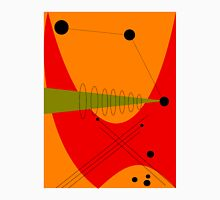 Mid-Century Modern Abstract in Orange Unisex T-Shirt