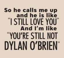 Still not Dylan - T by stillheaven