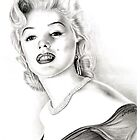 Marilyn Monroe by emizaelmoura