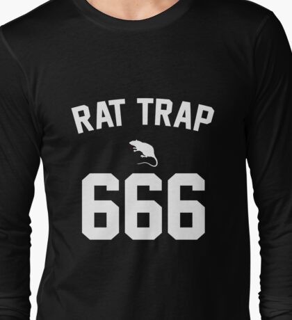 Rat Trap 666 Long Sleeve T-Shirt