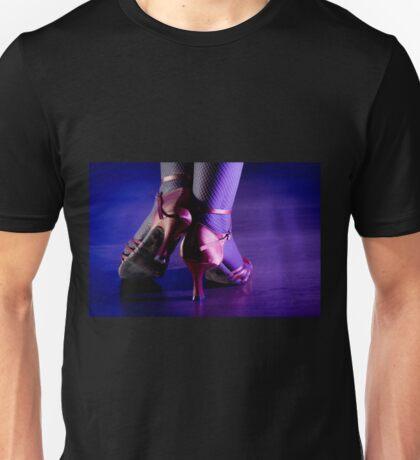Feet woman dancing Unisex T-Shirt