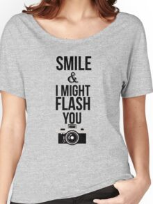 Smile - T Women's Relaxed Fit T-Shirt