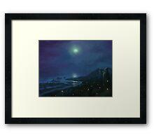Firefly Coast Framed Print