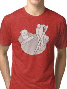Drawing Zen Tri-blend T-Shirt