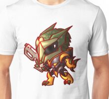 Alien Warrior Unisex T-Shirt