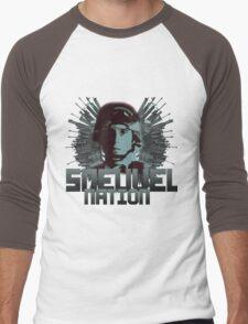 Sneuvelnation - Soldiersfortune Men's Baseball ¾ T-Shirt