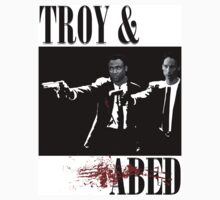 Troy & Abed (Pulp Fiction Style) by Chewblacca