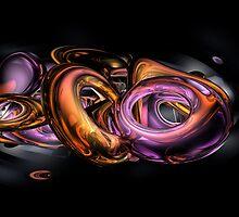 Graffiti Abstract by Alexander Butler