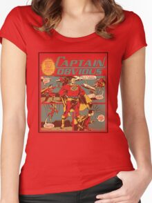 Captain Obvious T-Shirt Women's Fitted Scoop T-Shirt