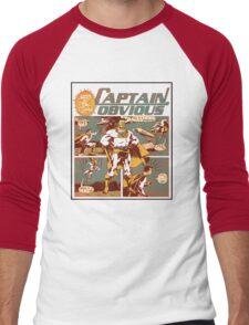 Captain Obvious T-Shirt Men's Baseball ¾ T-Shirt