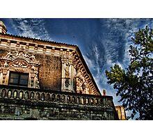 A detail of Palazzo Biscari, Catania Photographic Print