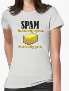 Spam Precooked Meat Womens Fitted T-Shirt